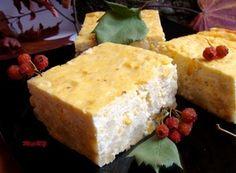 Фото к рецепту: Творожный заливной пирог с цветной капустой.