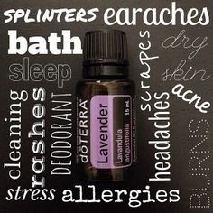 Lavender is one of the most versatile essential oils. To learn more about doTERRA, to purchase oils, or to contact me about getting oils at Wholesale prices, please visit www.mydoterra.com/ElizabethBarrett