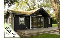 Leisure 834 x 444 Summer House Log Cabin Luxury Garden Building