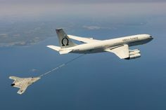 X-47B taking on fuel from a tanker on April 22, 2015. US Navy Photo.   The Navy successfully tested autonomous aerial refueling for the first time with its Northrop Grumman X-47B test unmanned aerial vehicle on Wednesday, marking the end of the Navy's Unmanned Carrier Air Vehicle demonstrator (UCAS-D) program, Naval Air Systems Command (NAVAIR) told USNI News shortly after the aircraft landed at Naval Air Station Patuxent River, Md.  Cruising over the Chesapeake Bay, the X-47B — call sign Salty Dog 502 — successfully maneuvered behind an contracted Omega Aerial Refueling Services Boeing 707 tanker and took on more than 4,000 pounds of fuel before heading back to Pax River at about 1:15 P.M. EST, NAVAIR spokesperson Jamie Cosgrove told USNI News.  The probe-and-drogue refueling test was successfully completed during the first of two test windows NAVAIR had on Wednesday and days before the availability of the Omega tanker was to expire, USNI News understands.  On April 15, Salty Dog 502 successfully linked with the tanker but didn't transfer fuel. At least one other test refueling was aborted due to turbulence.