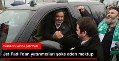 Devriye Haber : Fadıl Akgündüz, Soma'yı Gerekçe Gösterip Ödeme Yap...