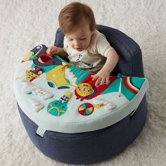 Playtime Pals Activity Chair   The Land of Nod