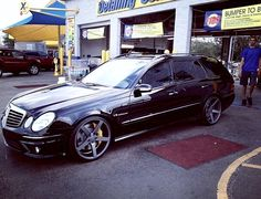 E55 AMG Wagon on Vossen CV3