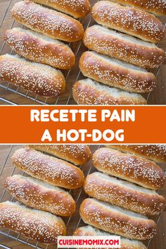 Hot Dogs, Hot Dog Buns, Croissants, Beignets, Brunch, Flan, Cooking Time, Bread, Bagels