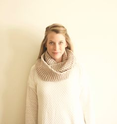 Chunky knit goodness!  https://www.etsy.com/listing/201999497/chunky-knit-circle-infinity-scarf-the