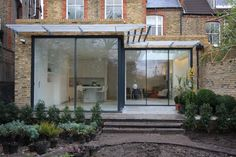 Minimal Windows on rear extension by IQ Glass