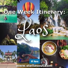 One Week Itinerary: Laos   Stella's Out…