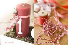 christmas diy candele avvento