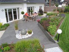 Abtrennung | Garten | Pinterest | Garten terrasse, Terrasse und Gärten
