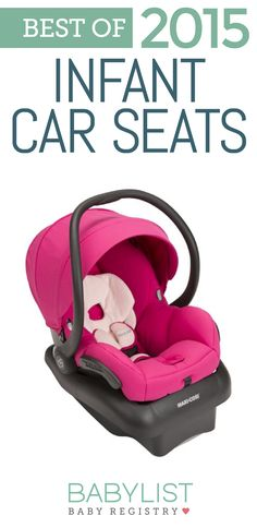 We love the Maxi Cosa Mico AP for its safety AND style! Check out all of the Best Infant Car Seats of 2015 here!