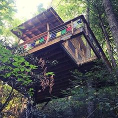 Look forward to visiting Red River Gorgeous Treehouse one day   @canopycrew #treehouseclub