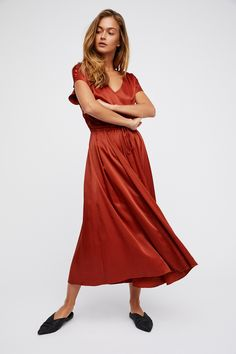 Love and Feeling Midi Dress