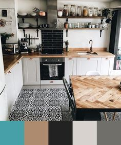 If you want to add a special touch to your Scandinavian dining room lighting des. - Decor Diy Home Kitchen Rug, New Kitchen, Kitchen Decor, Kitchen Ideas, Apartment Kitchen, Kitchen Black, Kitchen Backsplash, Black Backsplash, Kitchen Cupboards