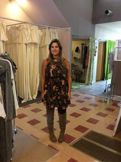 Rosie looks amazing in our new Free People Top. 15% off storewide on clothes today!!