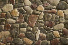 Manufactured Stone Veneer | Interior, Exterior Stone Products - Michigan river rock.   YES please