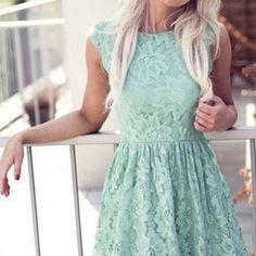 I love the color of the dress ans the dress are cool but I dont like the dentel. Its cute to go on beach and for summer