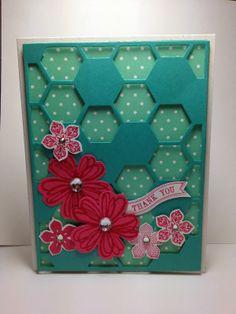 Hexagon Hive and Strawberry Slush