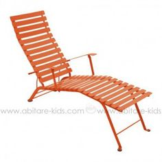 BISTRO by Fermob Chaise longue paprika