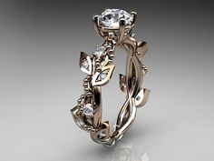 Hey, I found this really awesome Etsy listing at https://www.etsy.com/listing/220731980/14kt-rose-gold-diamond-leaf-and-vine