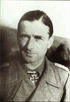 Generalmajor Gustav-Adolf von NOSTITZ-WALLWITZ (11 July 1898 – 31 May 1945) wounded in March 1945 in the Heiligenbeil Pocket, he was evacuated to a hospital in Eckernförde and died on 31 May 1945. Knight's Cross of the Iron Cross on 12 June 1944 as Oberst and commander of Panzer-Artillerie-Regiment