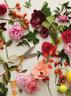 Floral Styling by Amy Merrick | Photography by Alpha Smoot | Art Direction by…