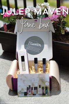 Julep Maven June box #review #nailpolish #nails #beauty