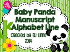 Cute cute Panda Theme for your classroom!