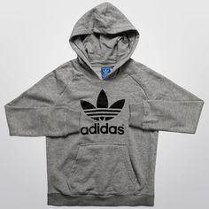 Moletom Adidas J Adi TF c  Capuz Infantil - Compre Agora 6d84625dd4a5a