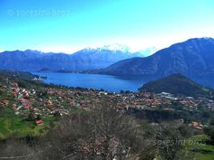 Lake Como panorama from Santuario Madonna del Soccorso (Ossuccio)