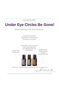 When the coffee just doesn't do enough, if you are anything like me, you have dreaded undereye circles. Well as usual, we have oils for that! In a 10 mL roller add: 💧 10 drops Copaiba 💧 10 drops Frank 💧 10 drops Lavender Top with carrier oil. Who else stays up and unwinds without kids after they go to bed only to find yourself staying up much later than you wanted? 😬 Just me?