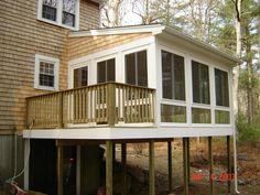 Lovely Building A Sunroom On A Existing Deck
