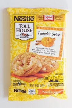 Nestlé Toll House Pumpkin Spice Refrigerated Cookie Dough