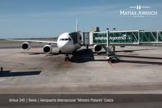 "Airbus 340 | Iberia | Ruta EZE-MAD | Aeropuerto Internacional ""Ministro Pistarini"" | Ezeiza, Argentina"