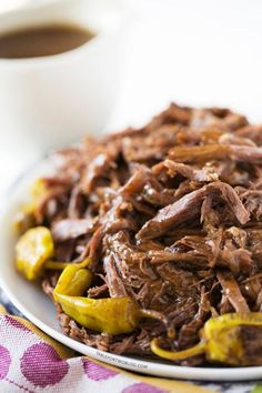 Mississippi Roast: What makes this roast different? The addition of pepperoncini peppers. (It's also great as a sandwich filler!)