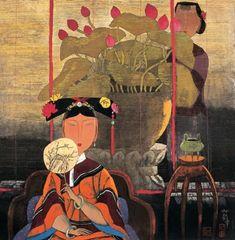 Hu Yongkai- Inside Curtain Outside Curtain