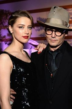 Amber Heard and Johnny Depp are engaged