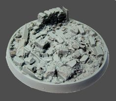 Beveled Bases: Urban Rubble 60mm 01 - Click Image to Close