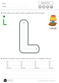 Un contenu captivant sur Apprendre à écrire la lettre L en capitale d'imprimerie
