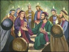 pentecost images to colour