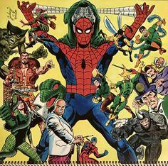 Comic Book Pages, Comic Books Art, Comic Art, Book Art, Marvel Calendar, Card Writer, Marvel Masterworks, Batman And Catwoman, Best Superhero