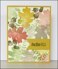Hello Fall · InkUp - Sharon Cline - For All Things,  Fall, Masculine