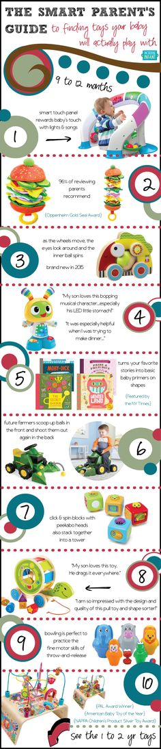 Smart Baby Toys for 9-12 Month Olds