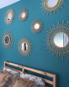 En matière de déco, le miroir soleil en connaît un rayon ☀️ (#MerciLaFoirFouille sur Instagram par @homedeco85)