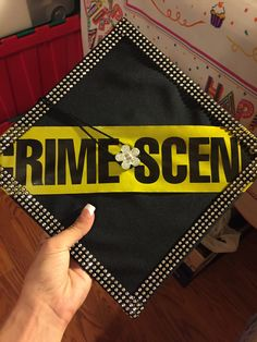 Forensic science graduation cap | College | Graduation cap ...