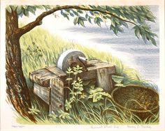 """Rural Still Life"", n.d., Harry LeRoy Taskey, color lithograph, 10 1/4 x 13 in. (25.9 x 33.0 cm), Smithsonian American Art Museum, Transfer from D.C. Public Library, 1967.72.251"