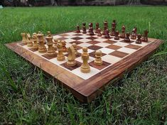"Indian Handcrafted 15X15"" Inche Best Professional Flat Chess Game Board Set, Indian Gift Item Sheesham Rose Wooden Magnetic Premium Chess. Handmade Home, Handmade Items, Handmade Gifts, Handmade Drawers, Etsy Handmade, Unique Gifts, Home Decor Items, Decoration, Decorative Items"