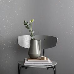 Ferm living confetti behang grey 174 - Ferm living kids