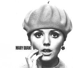 Mary Quant 60 s creator of the mini skirt 60s Fashion Trends, Sixties Fashion, Mary Quant, Vintage Outfits, Vintage Fashion, Vintage Hats, Vintage Clothing, Nostalgic Images, Twist And Shout