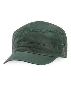 Love this Woodsy Green Cadet Cap - Women on #zulily! #zulilyfinds
