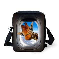 FORUDESIGNS Casual Brand Animal Rottweiler Pattern Messenger Bag for Women Mini Teenager Girls Crossbody Bag Mini Bags